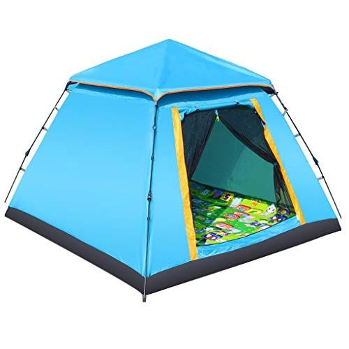 Utilisation multiple Sports de plein air Tente Camping Épaississement Crème solaire anti-pluie extérieure automatique Double Tente pliante coupe-vent respirant Équipement d'extérieur ( Color : C )