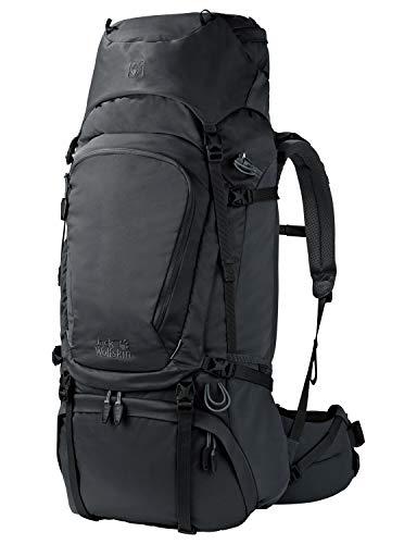 Jack Wolfskin Denali 65 Wandern Outdoor Trekking Rucksack, Phantom, 73x33x18 cm