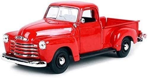 Modelo de coches para niños Modelo de coche de metal 1:25 3100 Pickup Truck retro Die Simulación del vehículo Aleación for uso estático modelo de coche de coches de juguete / / ornamentos 20x8x7.3cm