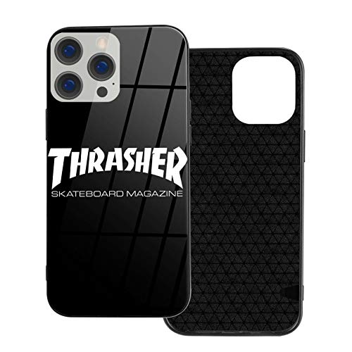 THR-Asher 2 Seasonal Compatible with iPhone 12 Case/Compatible with iPhone 12 Pro Case Anti-Fall Shock-Absorbing Anti-Scratch TPU Soft Shell + Tempered Glass Shell 6.1' Ip12pro Max-6.7
