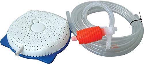 Pool Cover Drainer - Manual Water Pumps for Winter Pool Covers Draining - Swimming Pool Winter Cover Drain Syphon - Rain Water Removal Hand Pump Siphon Kit for Outdoor Above Ground Pools Winterizing