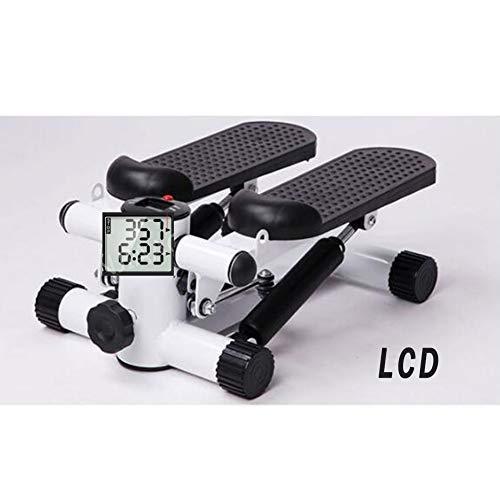 YDYL-LI Aerobic Fitness Steppers Multifunzionali Mini Tapis Roulant con Tiro di Corda E Massaggio Ai Piedi Fitness Steppers Tranquilla Perdi Peso Pedale