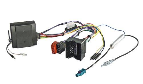 Watermark CB-1023 Lenkradfernbedienungsadapter JVC Autoradio CAN-Bus Interface Radio Adapter für Audi Ford Opel Seat Skoda VW Quadlock Stecker