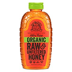 Sourced from the hives of Brazil and Uruguay, Nature Nate's Organic Raw & Unfiltered Honey features a uniquely bold flavor. Our honey is gently warmed and then strained, not filtered, to take the bee parts out and leave the good stuff, like pollen, i...