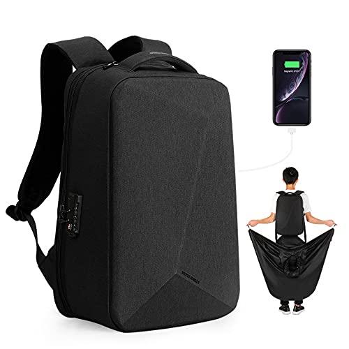 Mark Ryden, un sacco portatile a prova di furto, zaino da uomo, viaggio multifunzionale USB