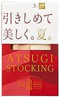 [アツギ] パンスト ATSUGI STOCKING (アツギストッキング) 引きしめて美しく。夏。<3足組> レディース シアーベージュ M~L