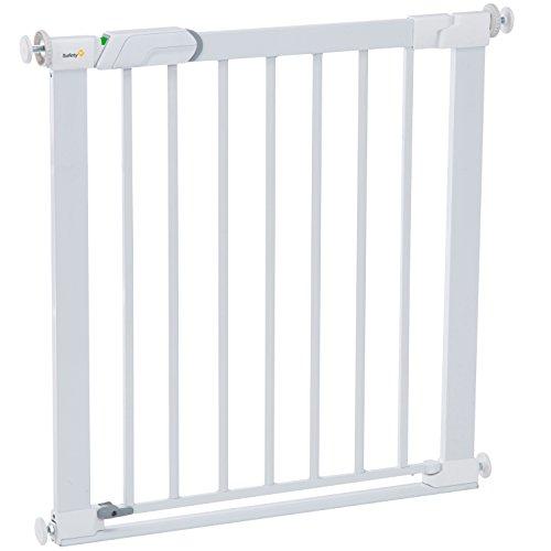 Safety 1st Barriere de Sécurité Flat Step Metal White