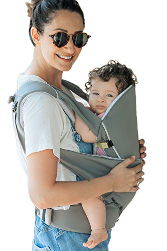 Cococho Ergonomic Baby Carrier- Adapts from Infant to Toddler, Easy Unassisted Wearing Method for Both Front and Back. Breathable Cotton 3D Mesh Inside. Teething Pads are Included