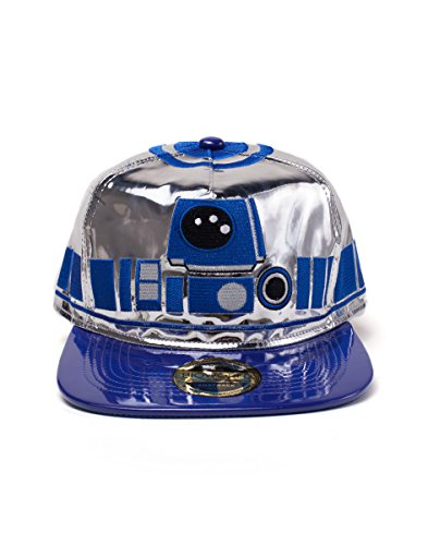 Star Wars: Episode IV - A New Cap R2-D2 Novelty Snapback White