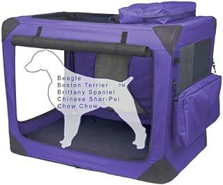 PET GEAR Generation II Soft Crate INTERMEDIATE - LAVENDER - PET