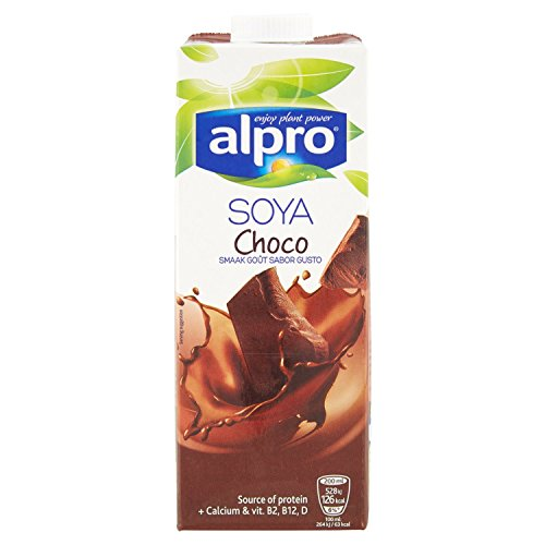 4x Alpro - Soya Drink Schoko - 1000ml