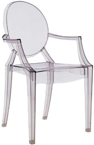 Kartell - Louis Ghost Chaise (Fume)