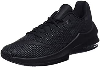 Nike Men's Air Max Infuriate 2 Low Basketball Shoe Black/Anthracite/Metallic Dark Grey Size 8.5 M US