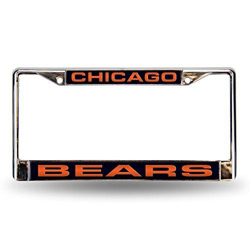 Chicago Bears Laser License Plate - 7