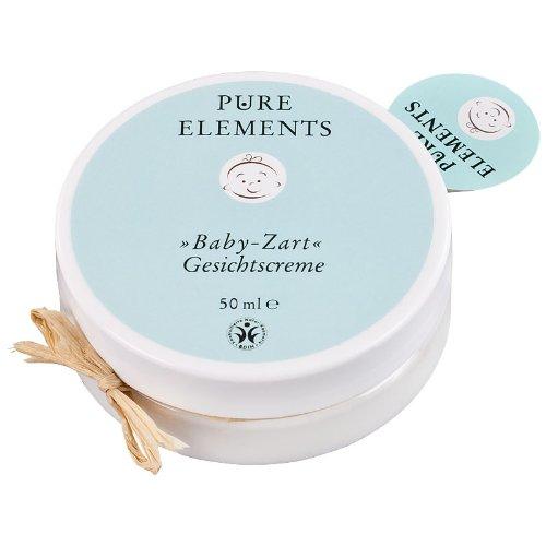 Pure Elements Naturkosmetik Baby Zart Gesichtscreme 50 ml