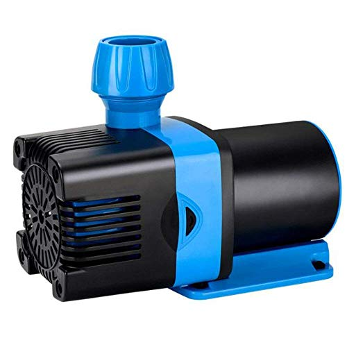 L&WB Ultra-leise Dc24v-Niederspannungs-Inverter-Tauchpumpe, Aquarium Kleine Tauchpumpe Amphibienpumpe,10000L/H