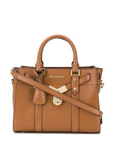 Luxury Fashion | Michael Kors Dames 30F9G0HS1L230 Bruin Leer Handtassen | Lente-zomer 20