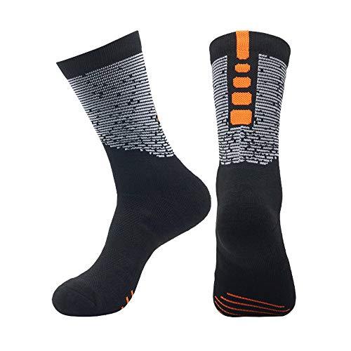 Baumwolle Sportsocken 6-teiliges Gepolsterte Laufsocken Trainer Socken für Männer Frauen Wandern Wandern Trekking-Socken UK 6-11,16
