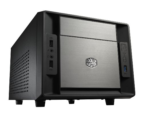 Cooler Master Elite 120 Advanced Case per PC 'Mini-ITX, USB 3.0, Pannello Laterale in maglia' RC-120A-KKN1