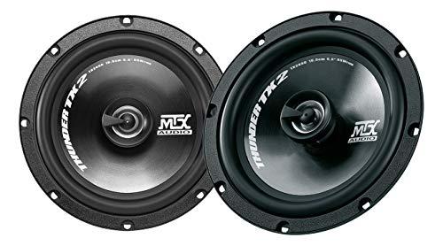 MTX Juego de Altavoces Coaxiales para Coche, Thunder TX2 265C, 2 vías...