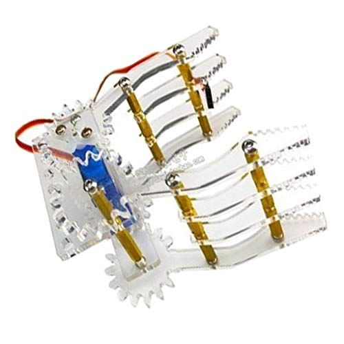 H HILABEE Halskette Servo Mechanische Klaue 9g Servo Greifer Manipulator Spleißgreifer