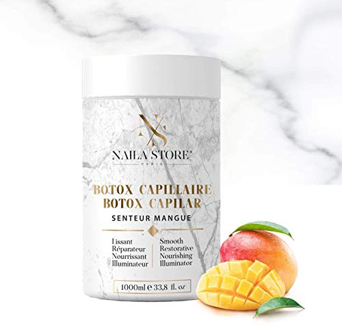 Botox capillaire by Naila Store 1000ml Made in France masque kératine soin hydratant lissant