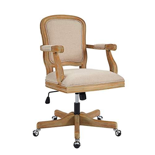 Linon Chair, Rustic Brown