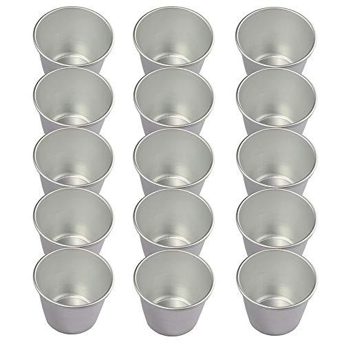 Fortspang Puddingformen, Antihaftbeschichtung, für Pudding, Eierkuchen, Törtchen, robuste Formen, ideal für süße und herzhafte Leckereien, 15er-Packung