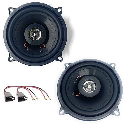 Sound-way 2 Wege Lautsprecher Einbauset Speakers Autoradio kompatibel mit Renault Megane, Modus, Scenic, Grand Scenic