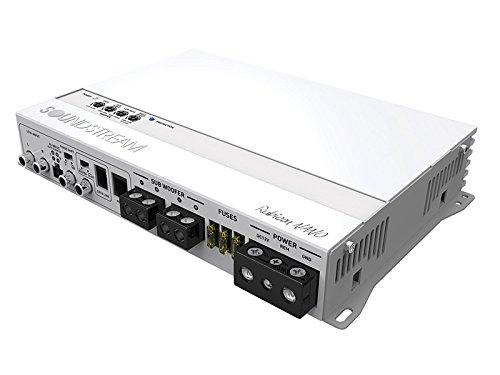 Soundstream MR4.1400D Rubicon Nano Marine 1400W Class D 4-Channel Amplifier,White