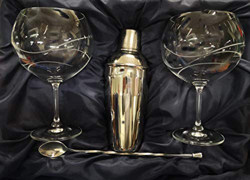 Juego DE 2 Copas DE Gin Tonic 990 CL 3 Piezas Bohemia