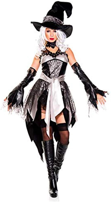 Simmia Halloween Kostüm,Halloween Cosplay Kostüm Cosplay Kostüm Nachtclub Makeup Stage Performance, grey, U