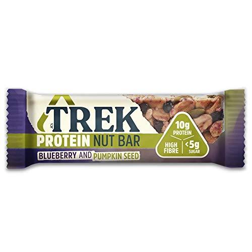 Trek | TREK Protein Nut Bar- Blueberry & Pumpkin Seed | 13 x 40g (UK)
