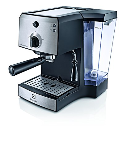 Electrolux EEA111 macchina per caffè Libera installazione Macchina per espresso Nero, Acciaio inossidabile 1,25 L 1 tazze Manuale