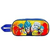 KARACTERMANIA Dragon Ball Super Vegito-Astuccio Portatutto 3D Doppio, Arancione