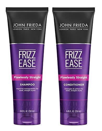John Frieda Acondicionador Liso Perfecto 250ml | Pelo Liso | Antiencrespamiento | Pelo Encrespado | Solido