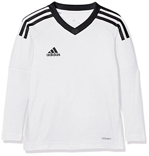 adidas Jungen Revigo 17 Torwarttrikot, White/Black, 164