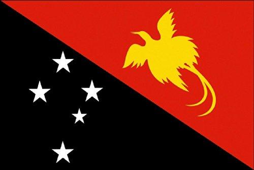 6m 20fanions drapeau Papouasie-Nouvelle-Guinée