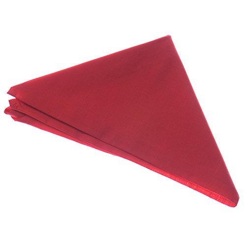Cook Neck Tie Red Chef Neckerchief Necktie Bufanda Accesorios de Cocina (Rojo)