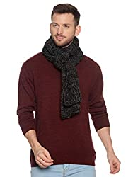 513 Mens Self Design Muffler (Wine)