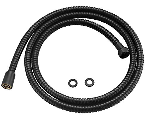 100% Metal Shower Hose For Hand Held Shower Heads, Oil Rubbed Bronze | Extra Long 72 Inch Cord Made With Commercial Grade Stainless Steel | Universal Replacement Part For Handheld Showerhead Hoses