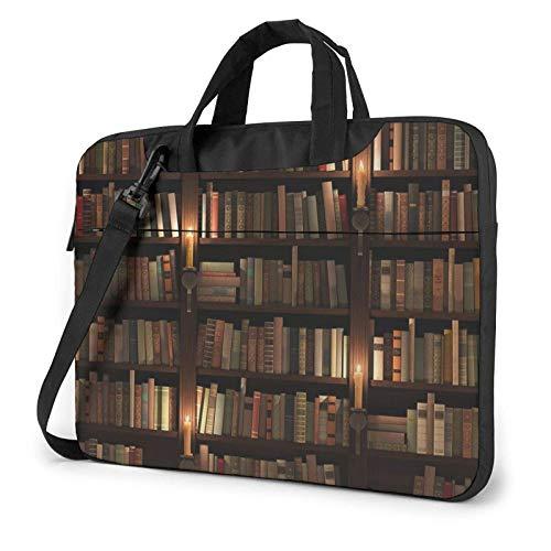 Book Room Mysterious Library Laptop Bag Messenger Bag Briefcase Satchel Shoulder Crossbody Sling Working Bag