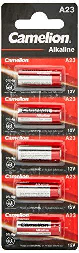 Camelion 11050523 Plus Alkaline Batterien ohne Quecksilber LR23/A/12 Volt, 5er