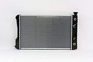 Radiator - Pacific Best Inc For/Fit 206 87-93 Chevrolet GMC S10 S15 Pickup Blazer Jimmy 2.5L Plastic Tank Aluminum Core 1-Row