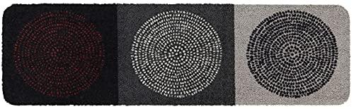 Salonloewe Nestor Fußmatte waschbar 030 x 100 cm Fußabtreter, Schmutzfangmatte