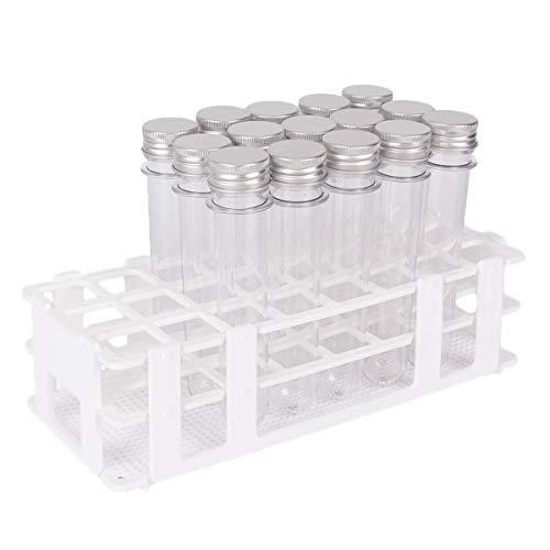 10Pcs Plastic Rectangle Microscope Glass Holder Slide Box for 5 Slides Muhwa eCommerce Co Ltd