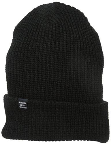 Herschel Herren Mütze Quartz Beanie - Schwarz - Einheitsgröße