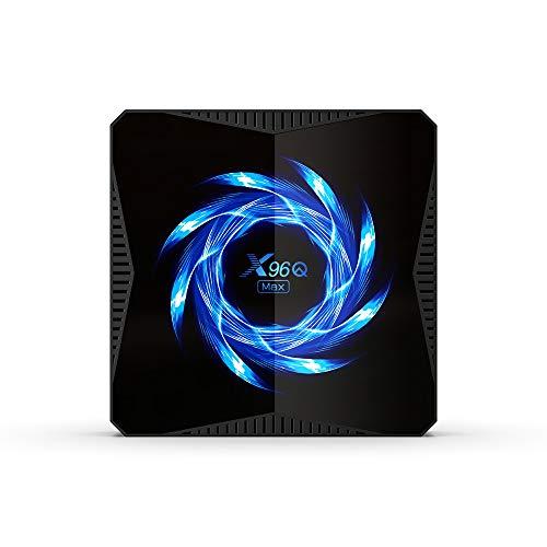 X96Q MAX Android 10.0 Smart TV Box Allwinner H616 4GB 32GB Dual WiFi Bluetooth 4K Smart Media Player