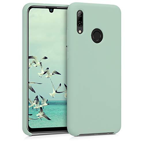 kwmobile Hülle kompatibel mit Huawei P Smart (2019) - Hülle Handyhülle gummiert - Handy Hülle in Mintgrün matt