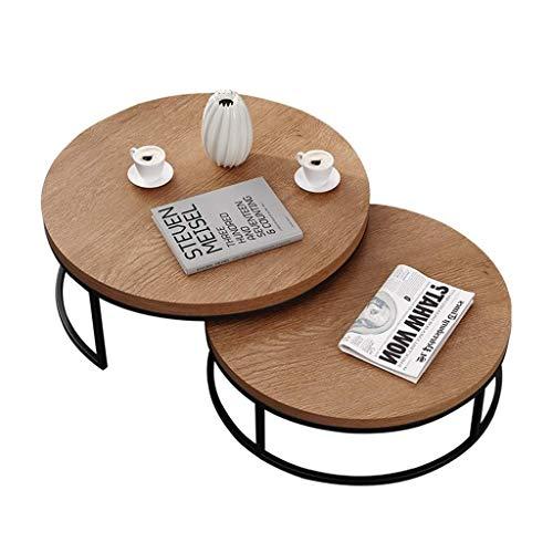 WSHFHDLC coffee table End Tables Modern End Table Nesting Sofa Side Table Living Room Furniture End Table Wood Extendable Coffee Tables Dormitory Bracket small coffee tables